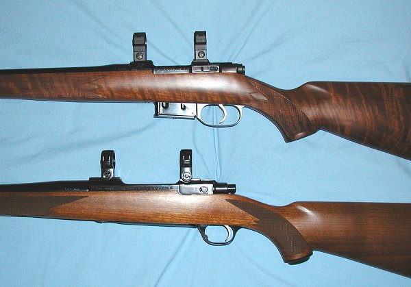 CZ527A on top in photo