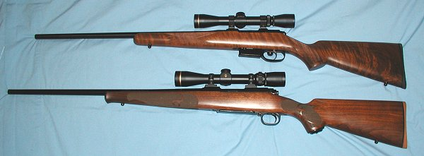 CZ527A vs. Winchester Model 70 Classic Featherweight